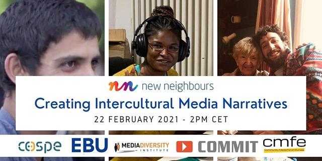 New Neighbours Online Webinar Creating intercultural media narratives